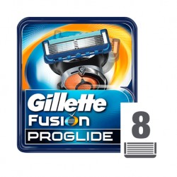 GILLETTE FUSION PROGLIDE OSTRZA DO MASZYNKI DO GOLENIA X8