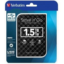 Dysk zewnętrzny Verbatim Store 'n' Go 1.5 TB USB 3.0