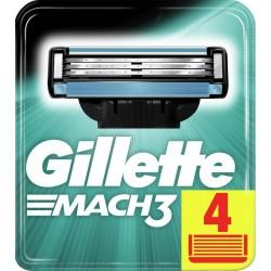 Gillette wkłady do maszynki Mach3 - 4 sztuki