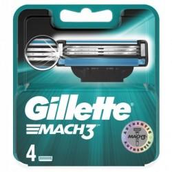 Gillette Mach3 ostrza do maszynki - 4 sztuki