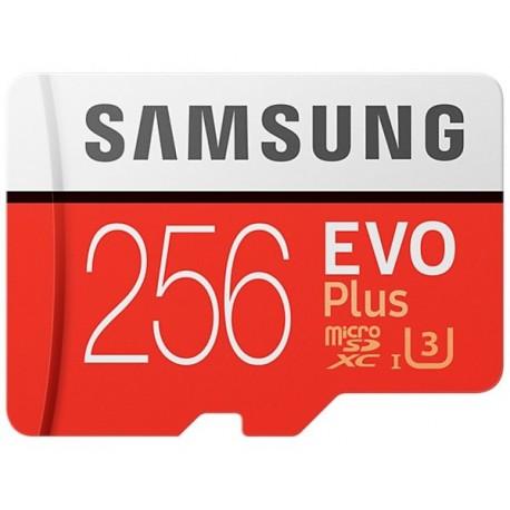 Samsung EVO PLUS microSDXC 256GB UHS-I U3