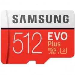 Karta Samsung EVO Plus microSDXC 512GB UHS-I U3