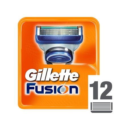 Gillette Fusion Ostrza do maszynki do golenia x12