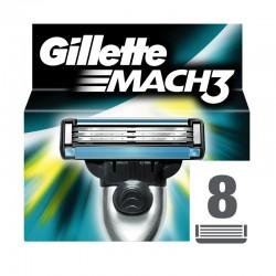 Gillette Mach3 ostrza do maszynki - 8 sztuk