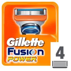 Gillette wkłady do maszynki Fusion Power x4