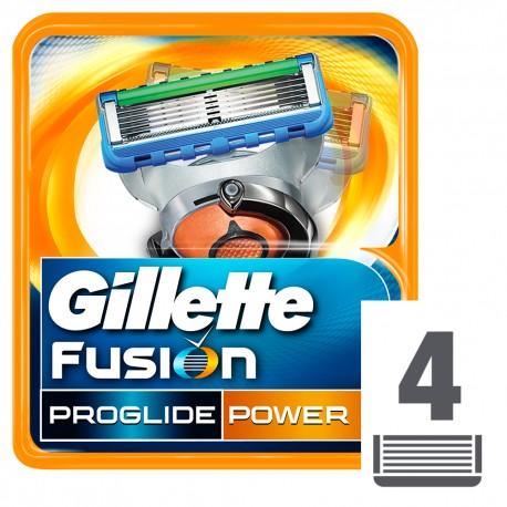 Gillette wkłady do maszynki Fusion Proglide Power - 4 szt.