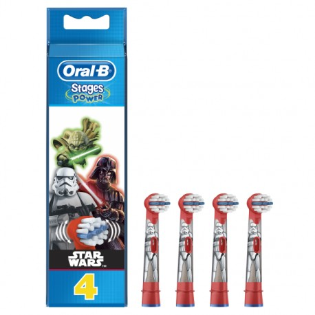 Oral-B końcówki Star Wars 4 sztuki