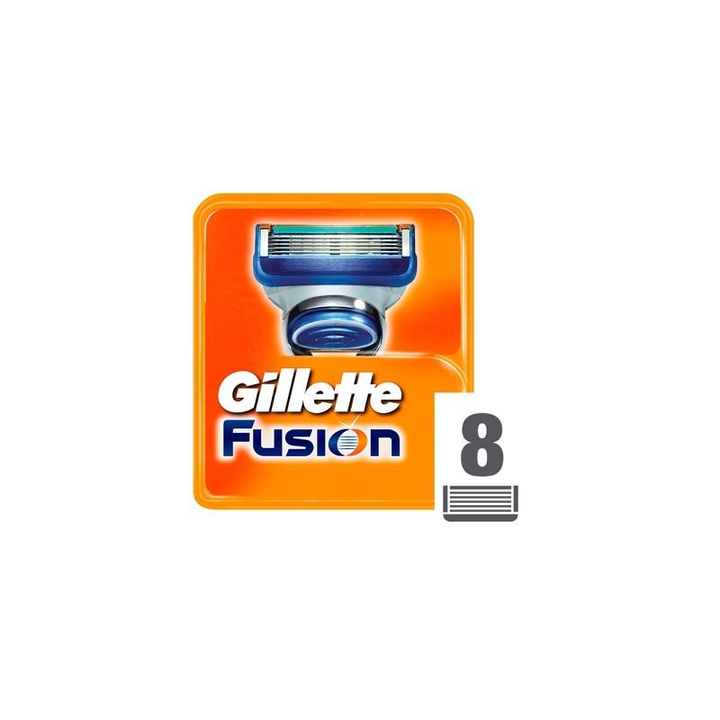 Gillette Fusion Ostrza do maszynki do golenia x8